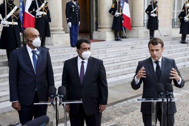 Emmanuel Macron es abofeteado