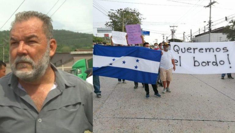 Roberto Contreras admite que tenía intereses para promover la protesta de Chamelecón