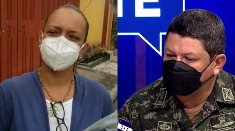 Delma Ordóñez presenta querella contra comandante de la FNAMP