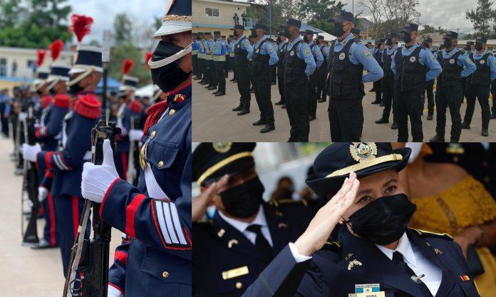 Celebración día policía hondureño