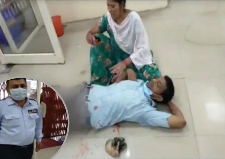 India: guardia de seguridad de un banco le dispara a un hombre por no portar mascarilla