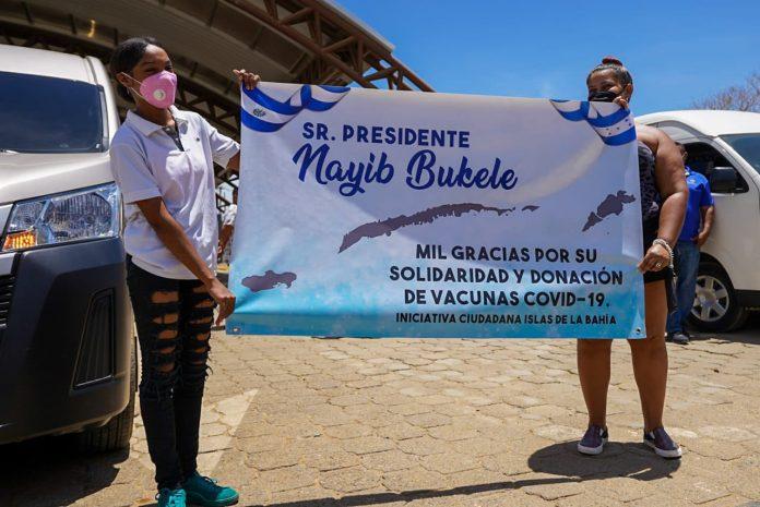 vacunas donadas Islas de la Bahía