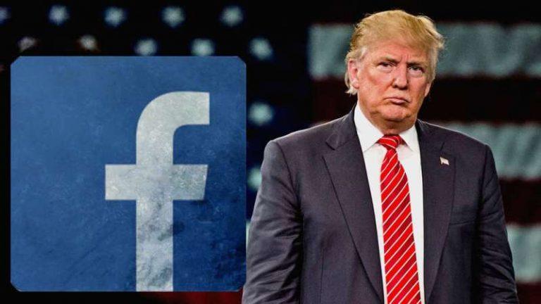 Facebook suspende cuenta de Trump hasta 2023 y podrían ampliar el plazo