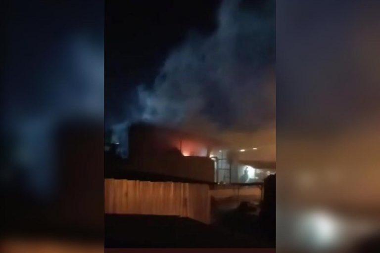 SPS: reportan «voraz» incendio en instalaciones de Honducafé