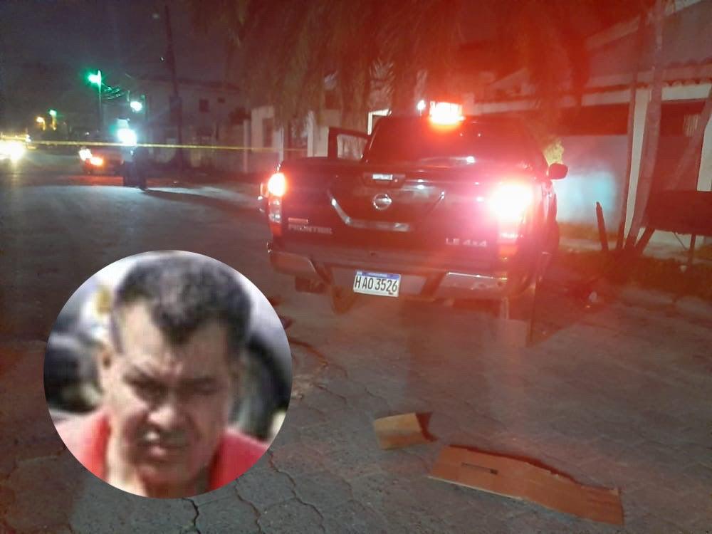 transportista acribillado pariente Miguelito Carrión