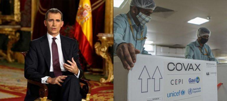 Reino de España gestiona vacunas para Honduras, asegura JOH