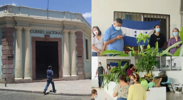 65 empleados del Correo Nacional exigen reintegro y que les paguen su salario