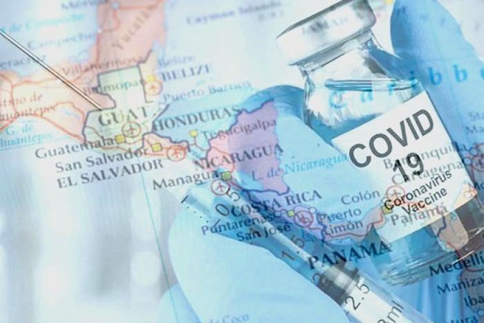 vacunados en centroamérica
