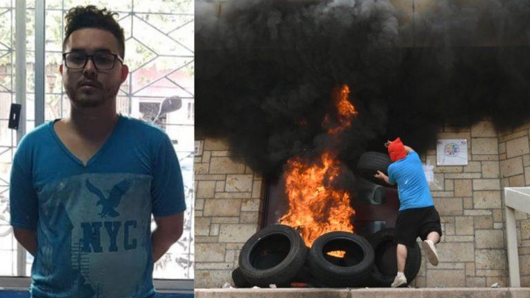 Por conmuta queda libre Rommel Herrera, acusado por incendio en la embajada