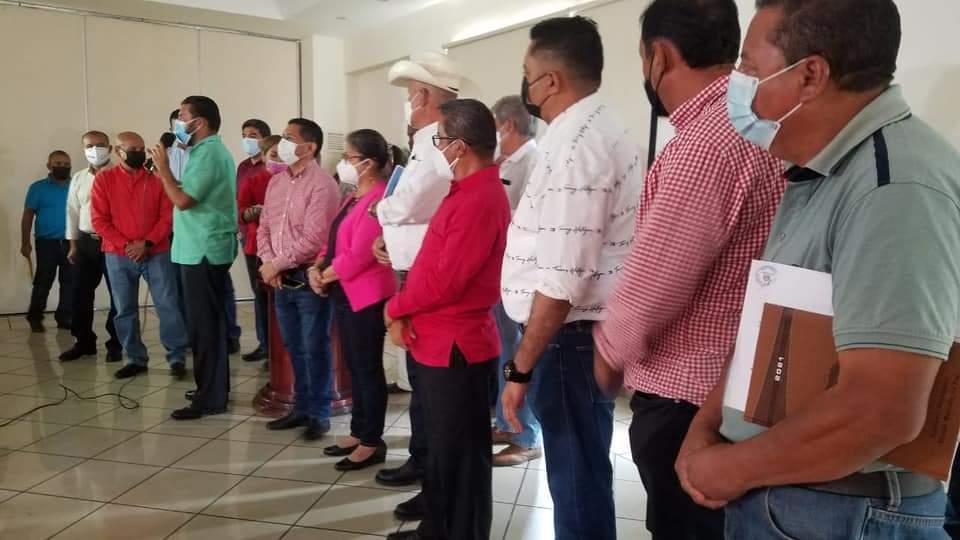 Reunión alcaldes vacunas
