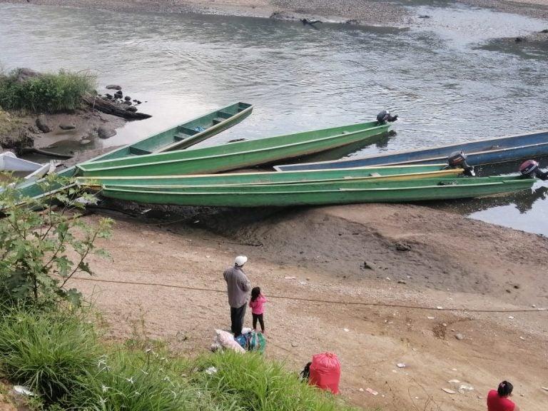 Pérdidas millonarias y sin energía: habitantes alrededor de Patuca III sufren sequía del río