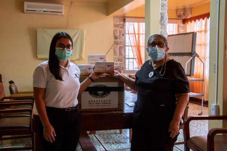 Fundación Kafie y SVC Foundation donan materiales de bioseguridad-higiene a hospitales