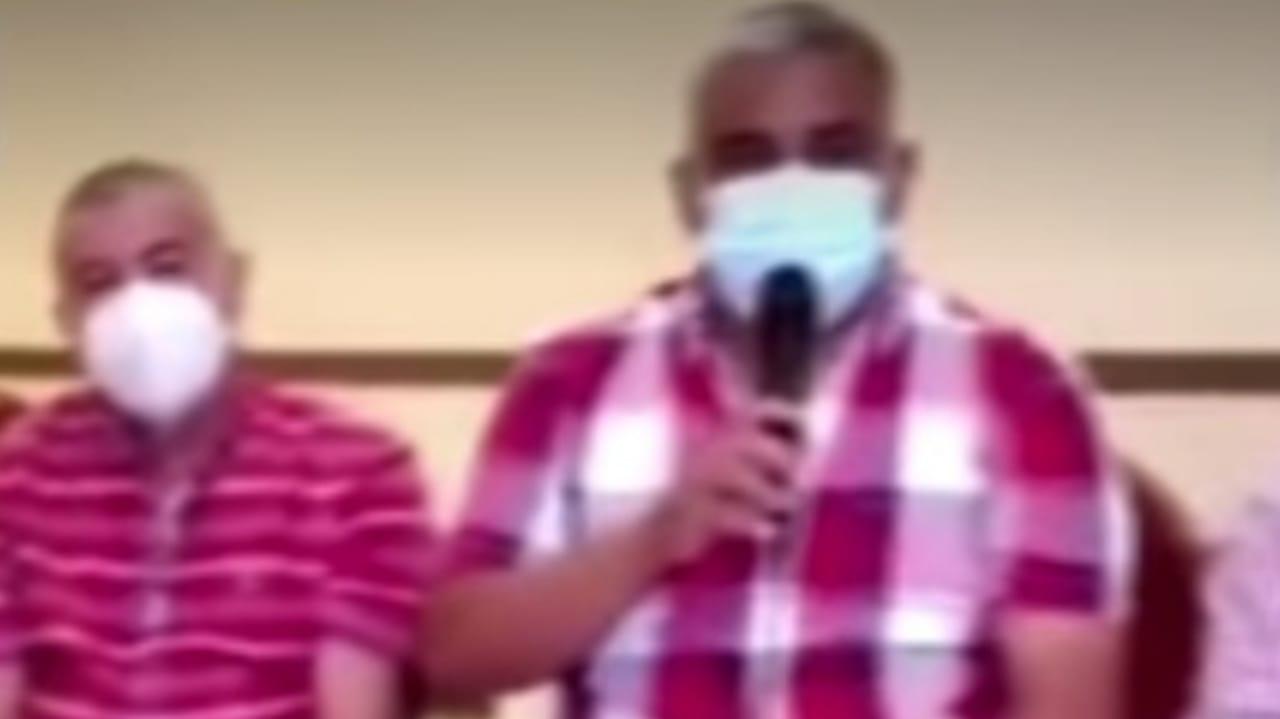 alcaldes Copán vacunas El Salvador