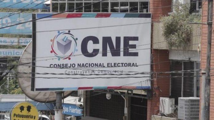 CNE candidaturas independientes