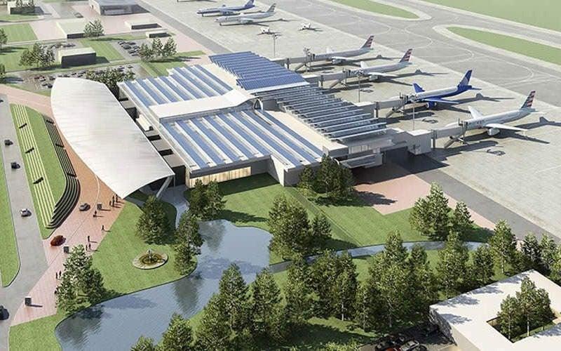 aeropuerto de Palmerola y Canal Seco