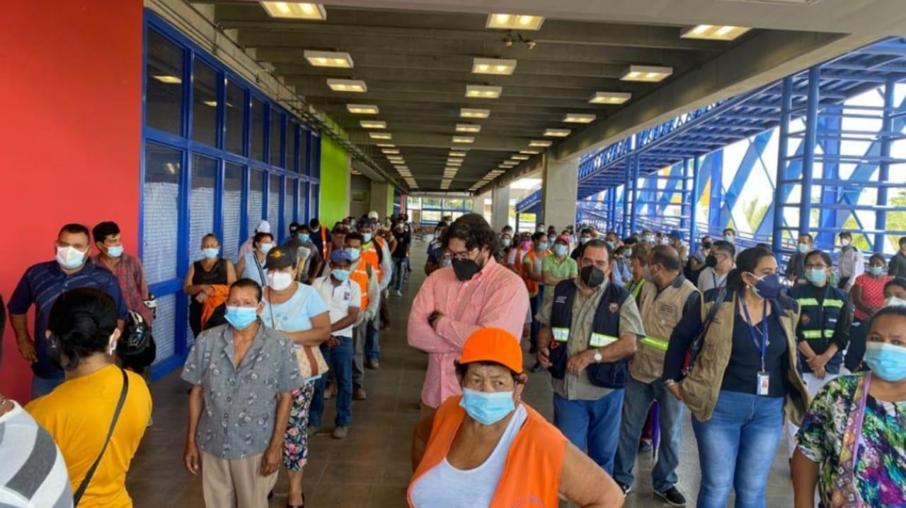 vacunación en Honduras jueves