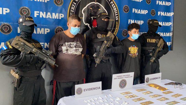 """Estructura independiente: capturan a dos """"extorsionadores"""" en El Progreso, Yoro"""