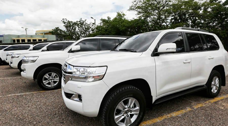 vehículos comprados Tasa Seguridad