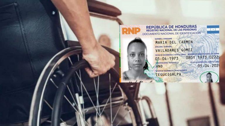 Pasos para que personas con discapacidad obtengan su identidad en casa