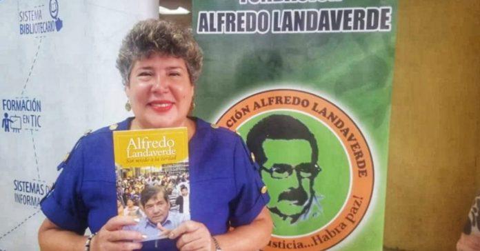 Hilda Caldera candidata diputada