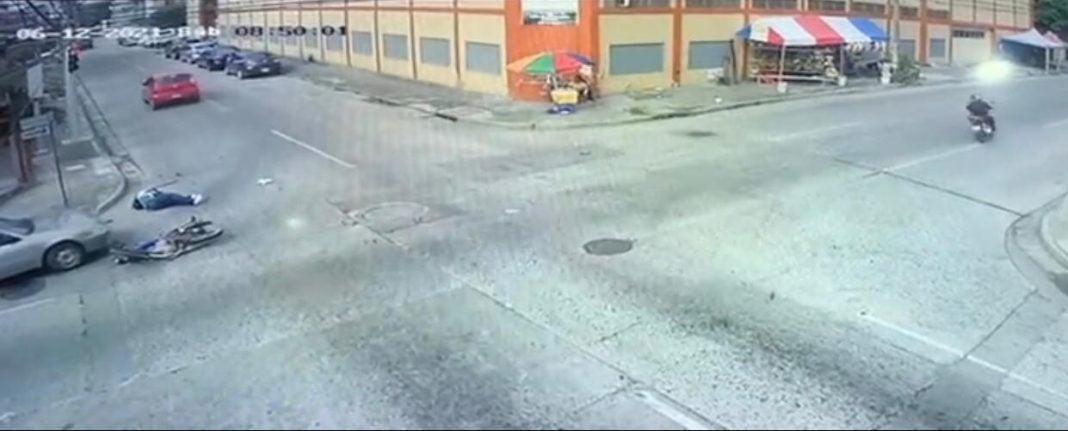 Carro embiste a motociclista en SPS