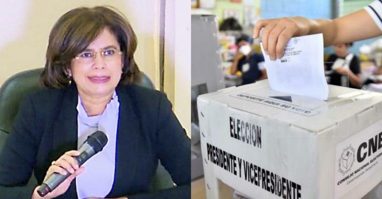 Después de las elecciones las papeletas sobrantes se romperán, asegura el CNE