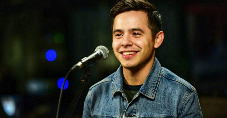 "David Archuleta, cantante de origen hondureño, se confiesa: ""Salí del closet"""
