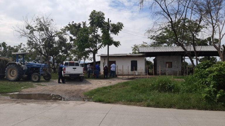 Dentro de una hacienda, matan a una pareja en Choloma, Cortés