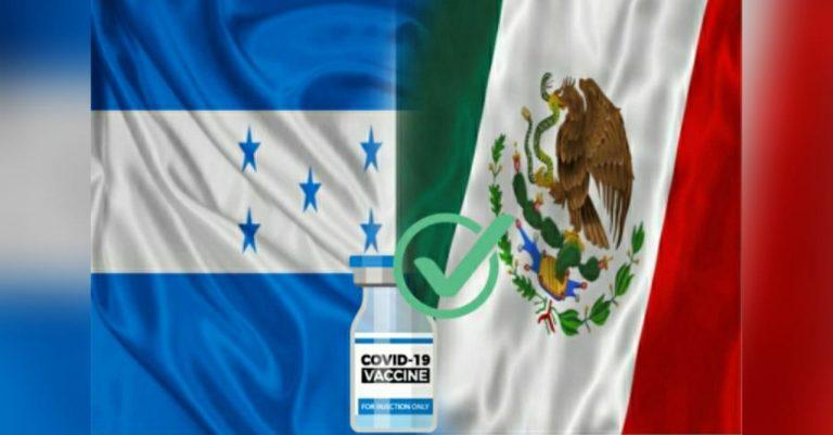 Honduras recibirá más de 154 mil vacunas anticovid de México