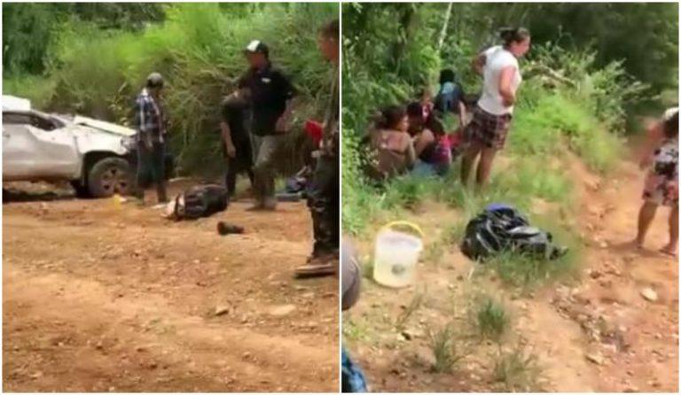 Accidente en Olancho deja al menos 20 personas heridas y tres muertos