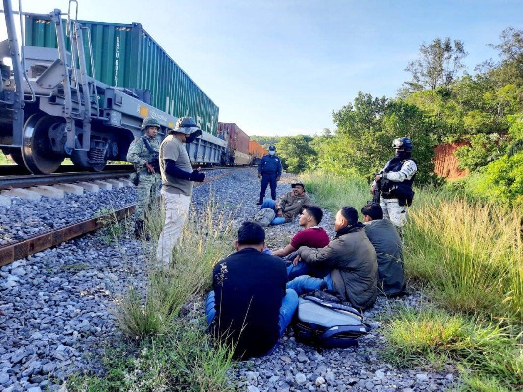 migrantes hondureños rescatados en México