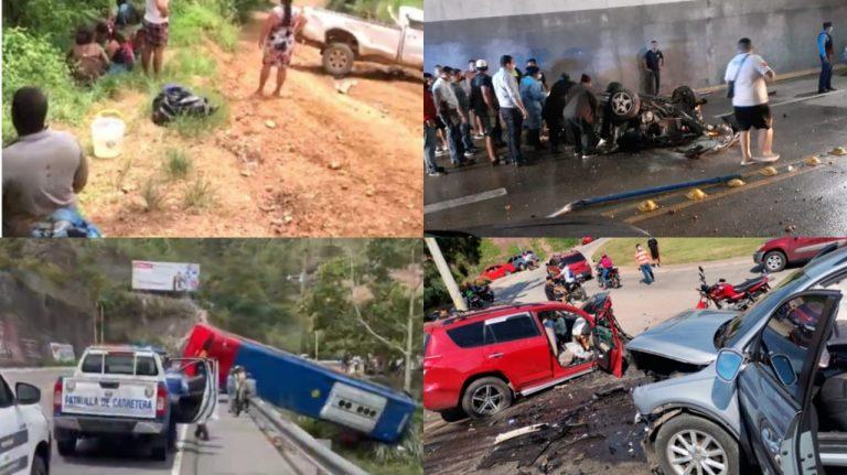 """Accidentes de tránsito """"más impactantes"""" del 2021: conozca el recuento y detalles"""