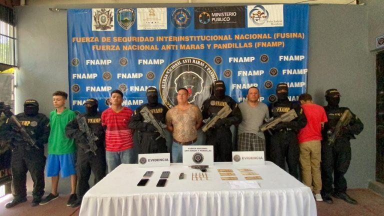 La Lima: caen cinco supuestos pandilleros: hay un «cabecilla» entre ellos