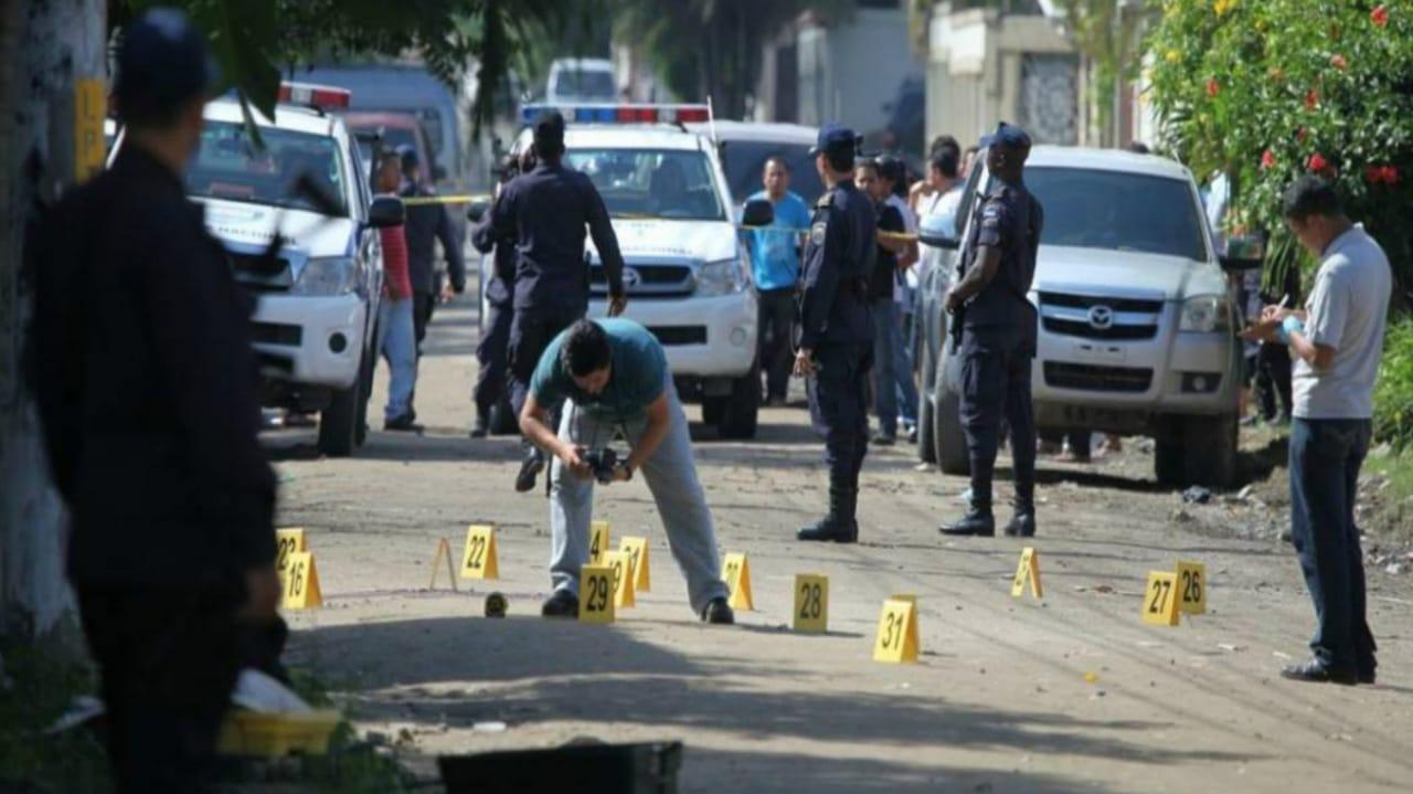 Seguridad violencia Honduras