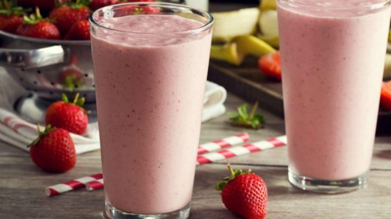 SALUD | Licuado de avena con fresas tiene múltiples beneficios para el cuerpo