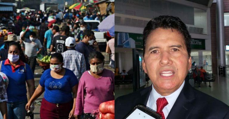 """Empresario sugiere vacunar en mercados, donde comercian """"miles de personas"""""""