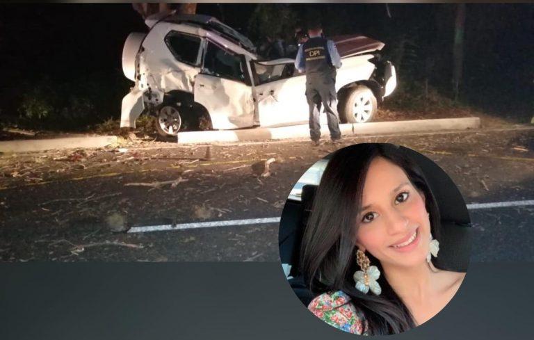 Joven muere al chocar su carro contra un árbol; era hija de un coronel retirado