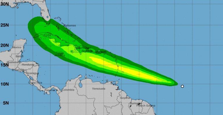 A estos países afectará: se forma depresión tropical y pronto será la tormenta Elsa