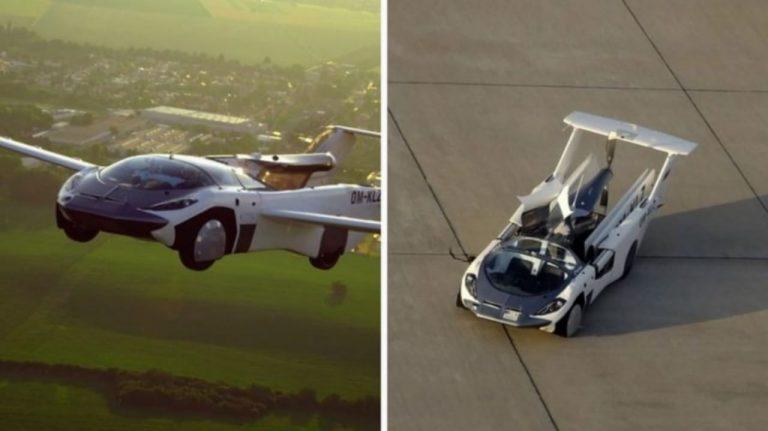 AirCar, primer auto volador que completa aterrizaje entre dos aeropuertos