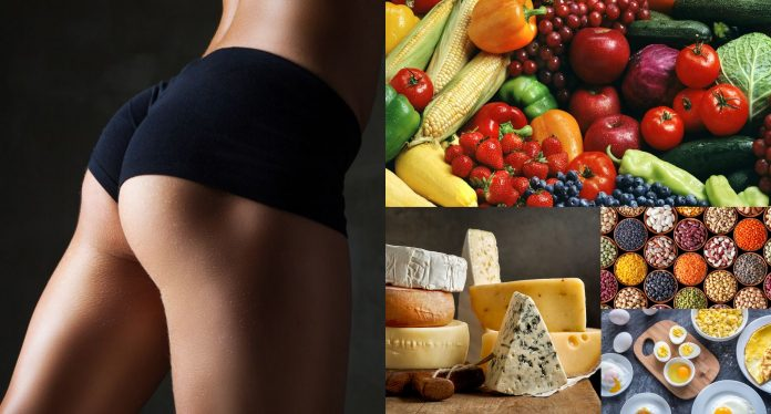 Alimentos aumentar piernas glúteos