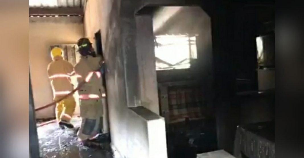 niña muere en incendio en El Porvenir