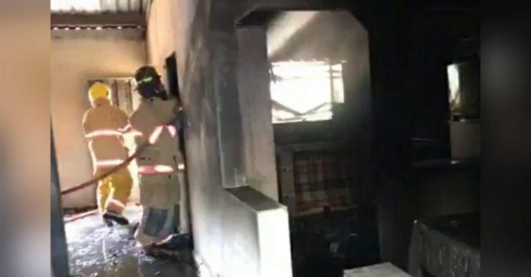 El Porvenir: niña de ocho años muere y su madre está grave tras incendio
