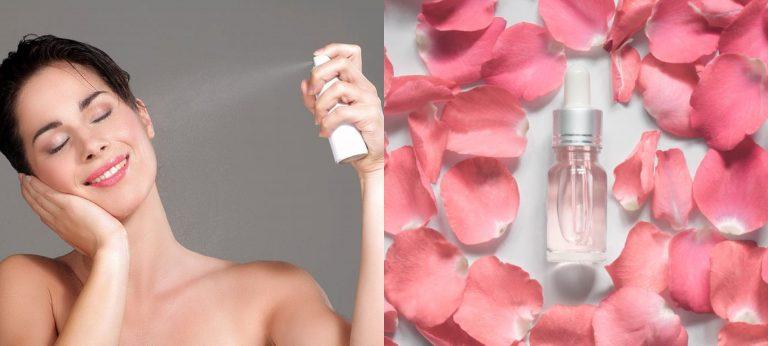 DE MUJERES| Seis grandes beneficios de utilizar agua de rosas en el rostro