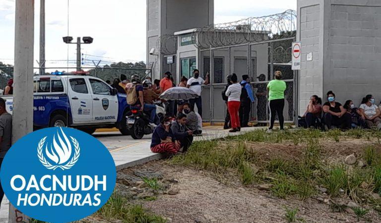 """OACNUDH """"preocupada"""": pide investigar ingreso de armas y explosivos en cárceles"""