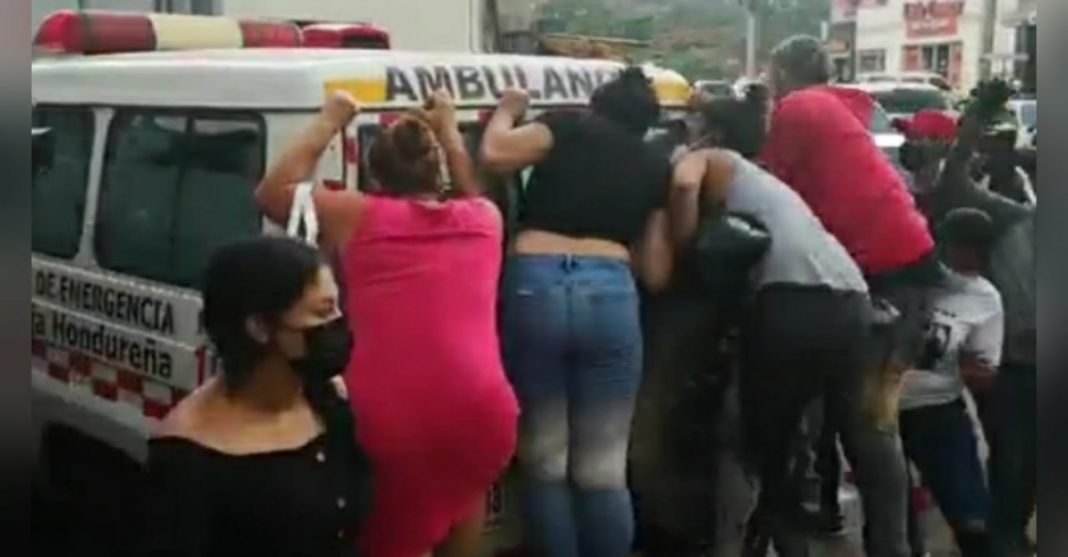 reos heridos en La Tolva HE