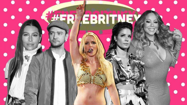 «Nadie debería ser tratado así»: Famosos muestran su apoyo a Britney Spears