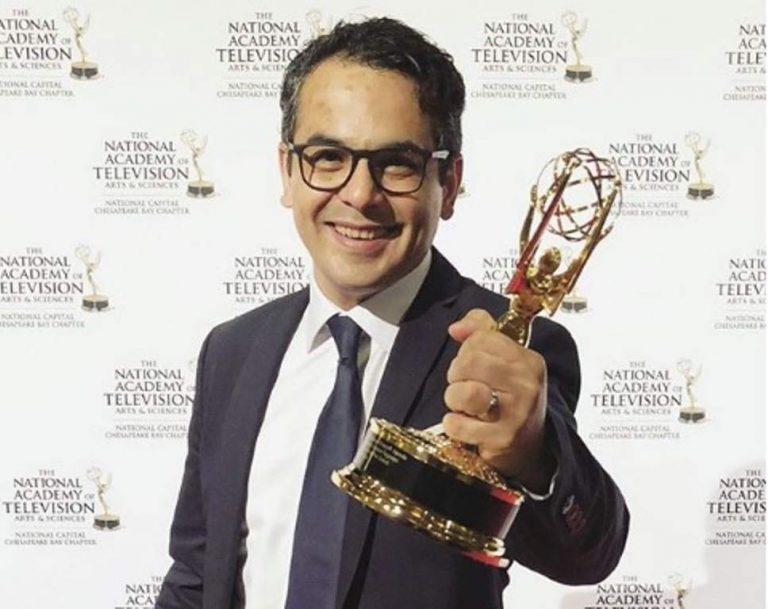 Cineasta hondureño dona un premio Emmy al Museo de Identidad Nacional