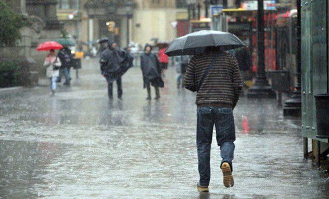¡Saque el paraguas! Hoy inician los ocho días de lluvias en Honduras
