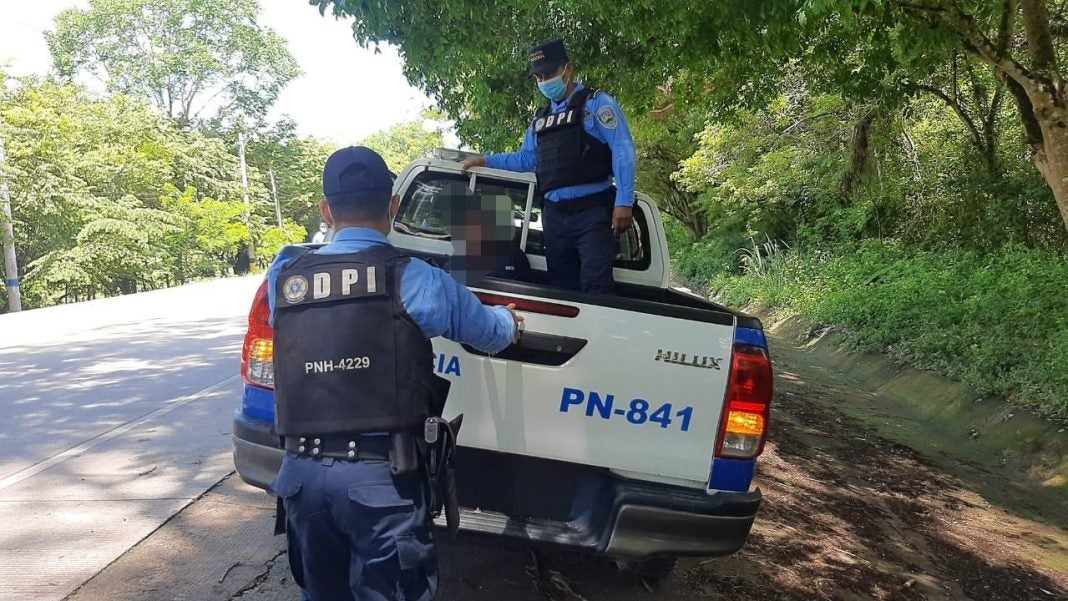 Capturan a Guatemalteco en Copán