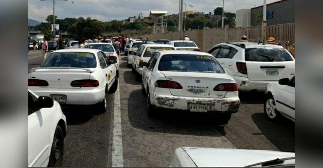 taxistas se van a paro